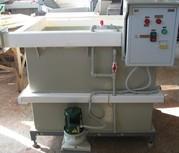 Установка для приготовления,  заливки и дозирования  электролита  УДЭ-2