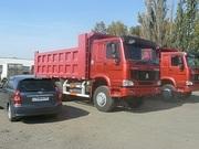 Продажа новых самосвалов  Хово,  Howo в Омске  6х4,  25 тонн ,  2300000 руб.