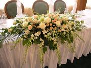 Цветы Саратова, украшение помещений