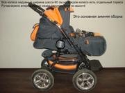 Продам импортную коляску-трансформер Adbor Baby Lux.