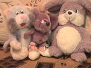 мягкие игрушки среднего размера