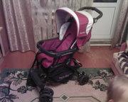 Продаю детскую коляску сидячая производство Италия.