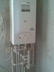 Замена и монтаж систем отопления и водоснабжения.