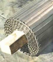 Сетка подовая конвейрная для хлебозаводов.