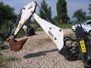 навесной экскаватор bobcat R35S