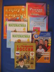 Продам учебники 4 класс