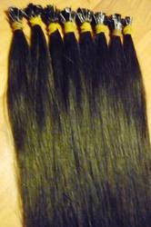 Натуральные волосы на капсулах
