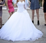 Срочно! Продам красивое свадебное платье!