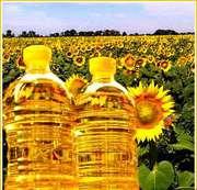 Натуральное подсолнечное масло
