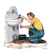 Замена труб: стояки,  отопление,  канализация. Установка любых счетчиков