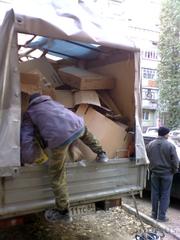 вывоз мусора, мебель, строительный, окна, хлам, батареи, ванны т 464221