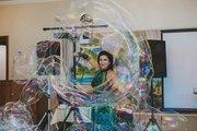 Шоу мыльных пузырей в Cаратове.
