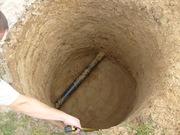 Выгребные , сливные ямы.Копка колодцев.Бурение скважин на воду .